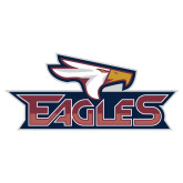 Extra Large Decal-Eagle Head w/ Eagles, 18 inches wide