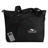 Excel Black Sport Utility Tote-Eagle Head w/ Eagles