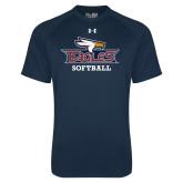 Under Armour Navy Tech Tee-Softball