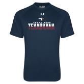 Under Armour Navy Tech Tee-Texas A&M-Texarkana Two-Tone