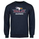 Navy Fleece Crew-Alumni