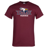 Maroon T Shirt-Tennis