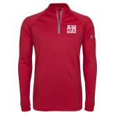 Under Armour Cardinal Tech 1/4 Zip Performance Shirt-Primary Mark