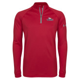 Under Armour Cardinal Tech 1/4 Zip Performance Shirt-Eagle Head w/ Eagles