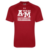 Under Armour Cardinal Tech Tee-Primary Mark