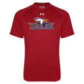 Under Armour Cardinal Tech Tee-Eagle Head w/ Eagles