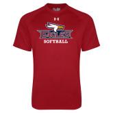 Under Armour Cardinal Tech Tee-Softball