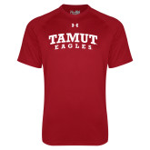Under Armour Cardinal Tech Tee-Arched TAMUT Eagles