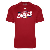 Under Armour Cardinal Tech Tee-Slanted Texas A&M-Texarkana Eagles