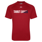 Under Armour Cardinal Tech Tee-TAMUT Eagles Two-Tone