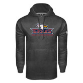 Under Armour Carbon Performance Sweats Team Hoodie-Eagle Head w/ Eagles Stacked