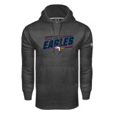 Under Armour Carbon Performance Sweats Team Hoodie-Slanted Texas A&M-Texarkana Eagles