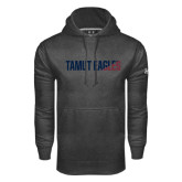 Under Armour Carbon Performance Sweats Team Hoodie-TAMUT Eagles Two-Tone