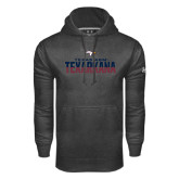 Under Armour Carbon Performance Sweats Team Hoodie-Texas A&M-Texarkana Two-Tone