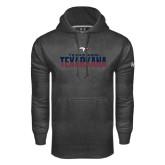 Under Armour Carbon Performance Sweats Team Hoodie-Texas A&M-Texarkana Two-Tone