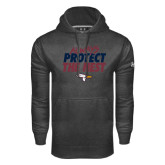 Under Armour Carbon Performance Sweats Team Hoodie-Always Protect The Nest