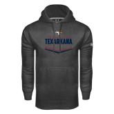 Under Armour Carbon Performance Sweats Team Hoodie-Texarkana Baseball Plate Stacked