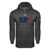 Under Armour Carbon Performance Sweats Team Hoodie-Texas A&M Texarkana Tennis Flat