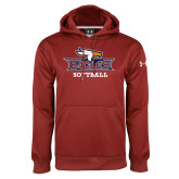 Under Armour Cardinal Performance Sweats Team Hoodie-Softball
