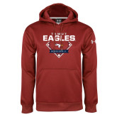 Under Armour Cardinal Performance Sweats Team Hoodie-TAMUT Eagles Baseball Diamond