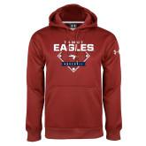 Under Armour Cardinal Performance Sweats Team Hoodie-TAMUT Eagles Baseball Diamond