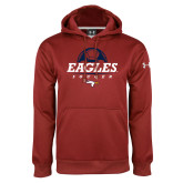 Under Armour Cardinal Performance Sweats Team Hoodie-Eagles Soccer Half Ball