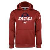 Under Armour Cardinal Performance Sweats Team Hoodie-Eagles Soccer Half Ball
