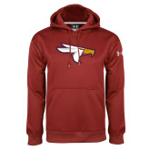 Under Armour Cardinal Performance Sweats Team Hoodie-Eagle Head