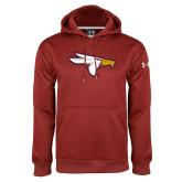 Under Armour Cardinal Performance Sweats Team Hoodie-Eagle Head