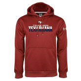 Under Armour Cardinal Performance Sweats Team Hoodie-Texas A&M-Texarkana Two-Tone