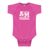 Fuchsia Infant Onesie-Primary Mark