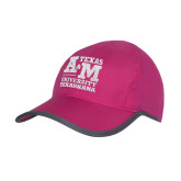 Pink/Charcoal Trail Blaze Cap-Primary Mark