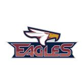 Medium Magnet-Eagle Head w/ Eagles, 8 inches wide