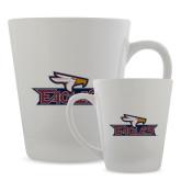 Full Color Latte Mug 12oz-Eagle Head w/ Eagles