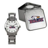 Mens Stainless Steel Fashion Watch-Eagle Head w/ Eagles