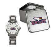 Ladies Stainless Steel Fashion Watch-Eagle Head w/ Eagles