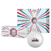 Callaway Supersoft Golf Balls 12/pkg-Eagle Head w/ Eagles