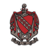 Medium Decal-Coat of Arms, 8 in Tall