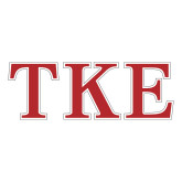 Large Decal-TKE, 12 in Wide