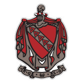 Large Decal-Coat of Arms, 12 in Tall