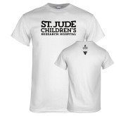 White T Shirt-St Jude Childrens Research Hospital