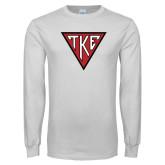 White Long Sleeve T Shirt-Houseplate