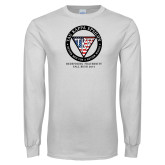 White Long Sleeve T Shirt-Redefining Fraternity Rush 2015 USA