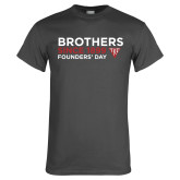 Charcoal T Shirt-Brothers Since 1899