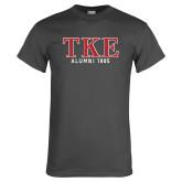 Charcoal T Shirt-TKE Alumni Year