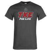 Charcoal T Shirt-TKE 4 Life