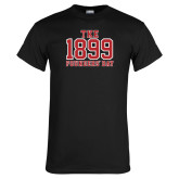 Black T Shirt-Founders Day Collegiate Numbers