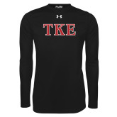 Under Armour Black Long Sleeve Tech Tee-TKE