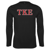 Syntrel Performance Black Longsleeve Shirt-TKE