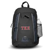 Impulse Black Backpack-TKE